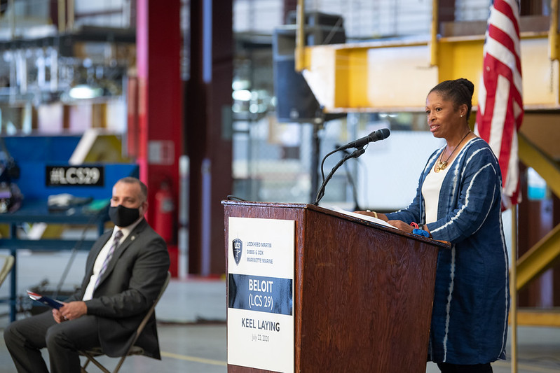 Keel Laying Ceremony Held for LCS 29