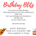 Birthday Blitz
