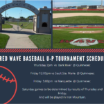 Menominee Red Wave Baseball