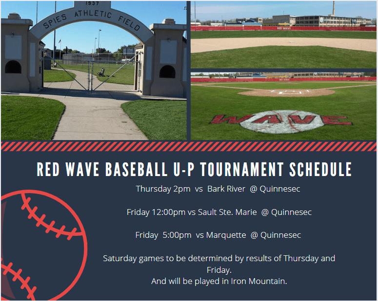 Menominee Red Wave Baseball