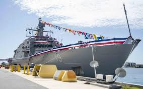 USS St. Louis Commissioned