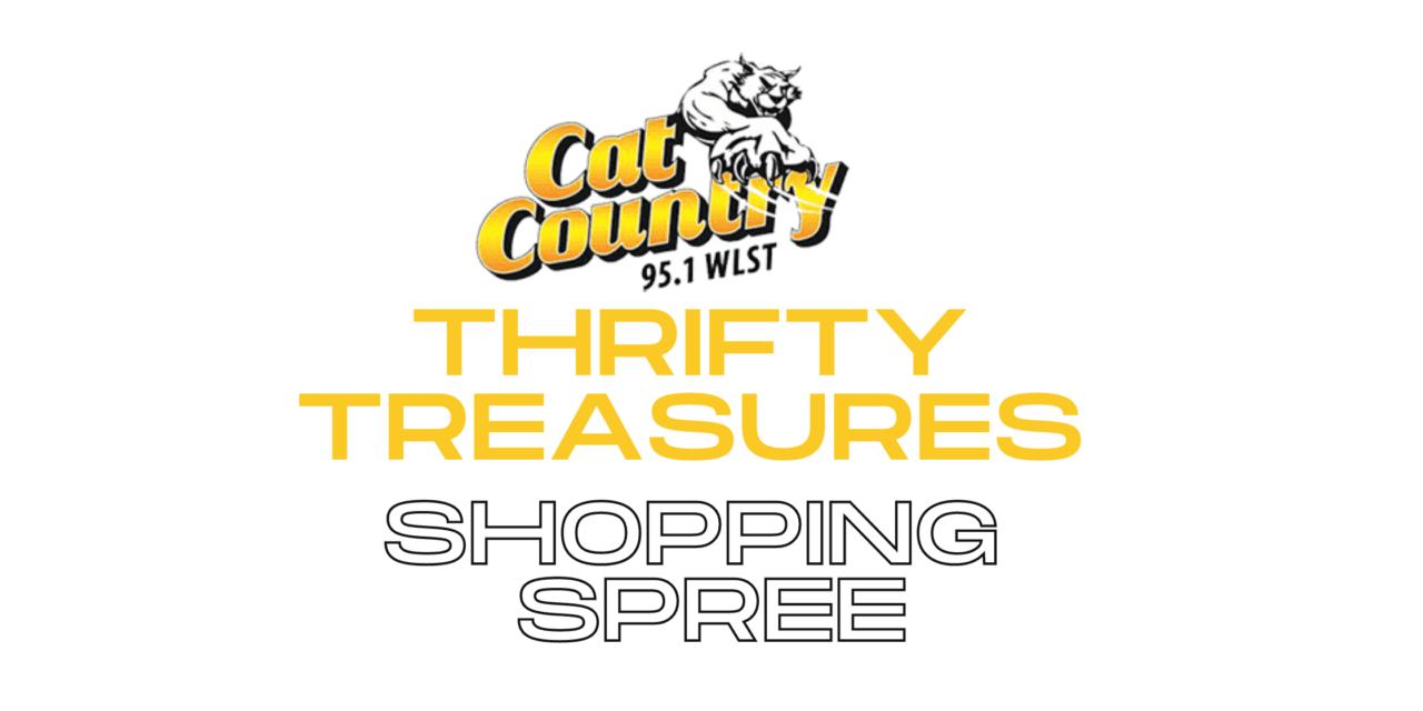 THRIFTY TREASURES SHOPPING SPREE