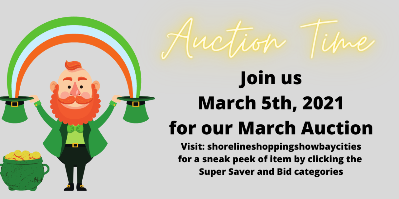 MARCH AUCTION- MARCH 5, 2021