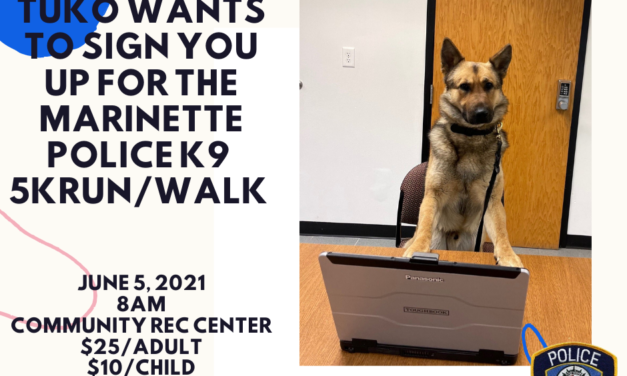 Get your sneakers and four-legged friends ready for this Saturday's run-walk.