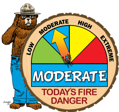 There is High Fire Danger Across Wisconsin…