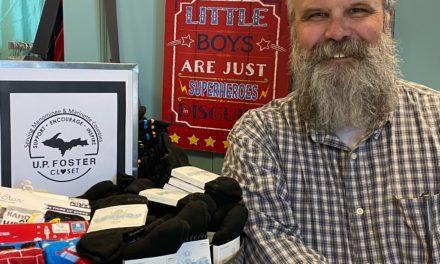 A Unique fundraiser is underway in Menominee and surrounding communities.