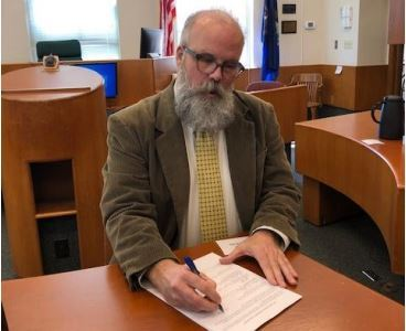 Prosecutor signs Multidisciplinary Team protocol for the Investigation of Sexual Assault and Physical Abuse cases involving children in Menominee County.