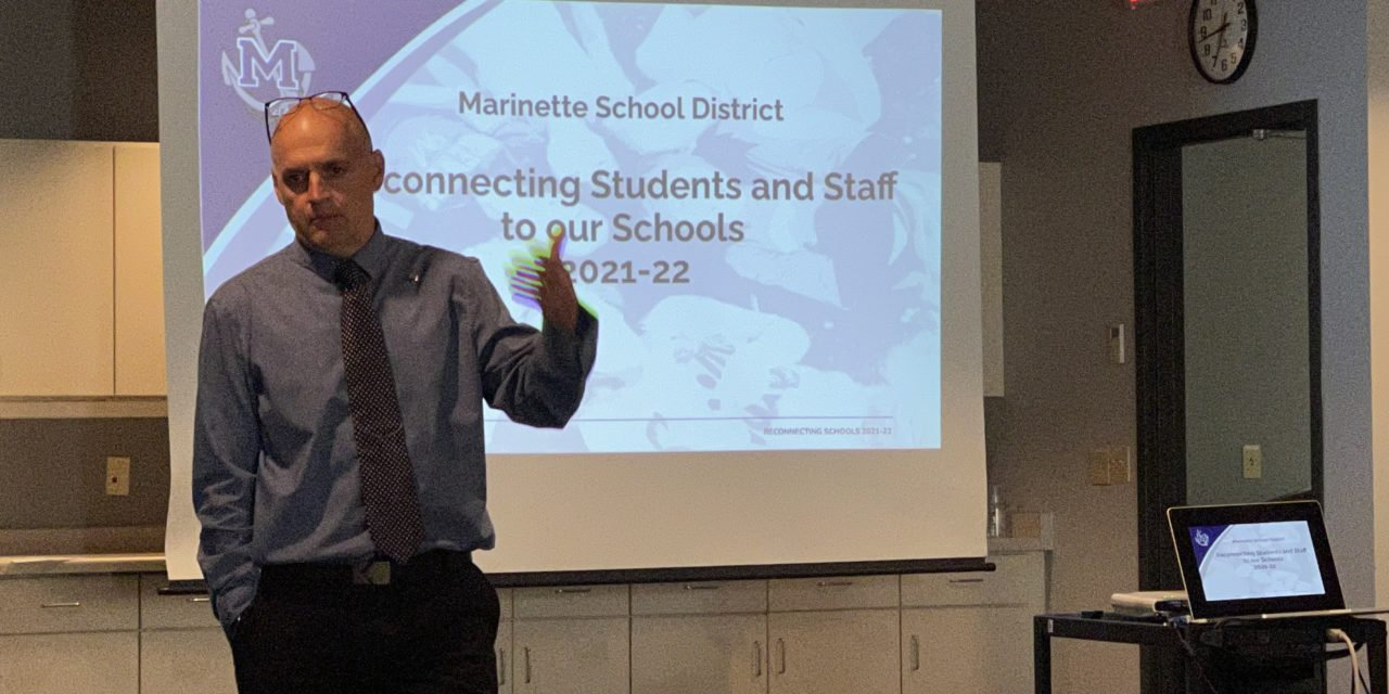 Marinette School Board receives preliminary policies for upcoming school year