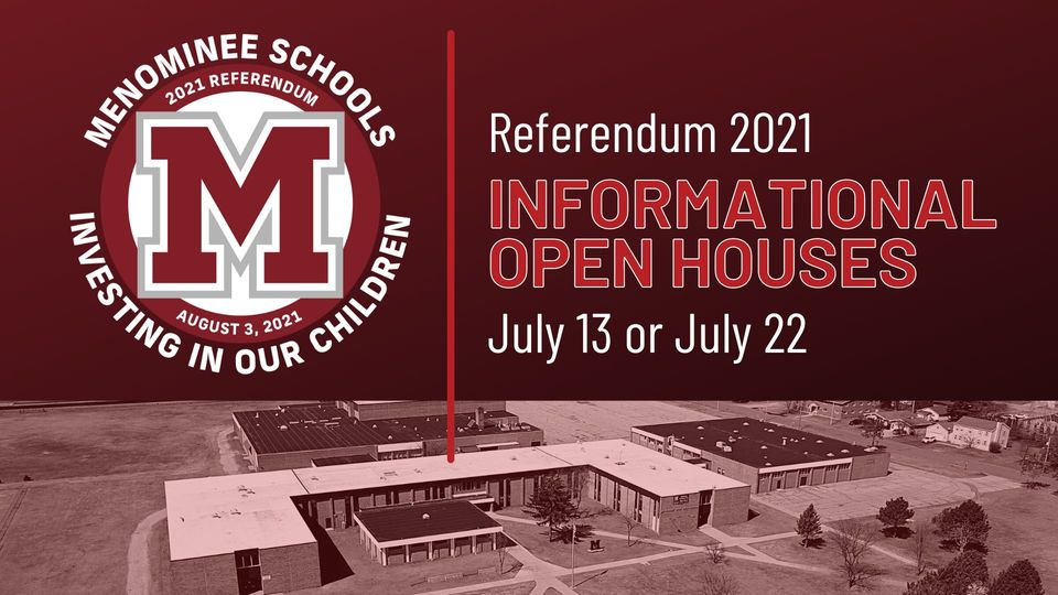 Menominee School District Referendum Meeting being held tonight