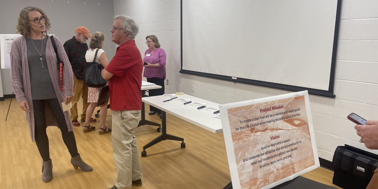 City of Marinette holds their first Community Development Public Input Meeting