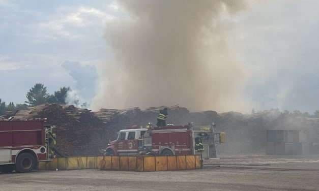 Governor Gretchen Whitmer last evening declared a state of emergency for Menominee County due to yesterday's large fire at a cedar mill in the Village of Carney