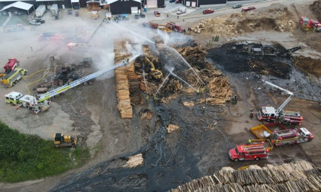 Employee dies in fire at Superior Cedar Products in Carney