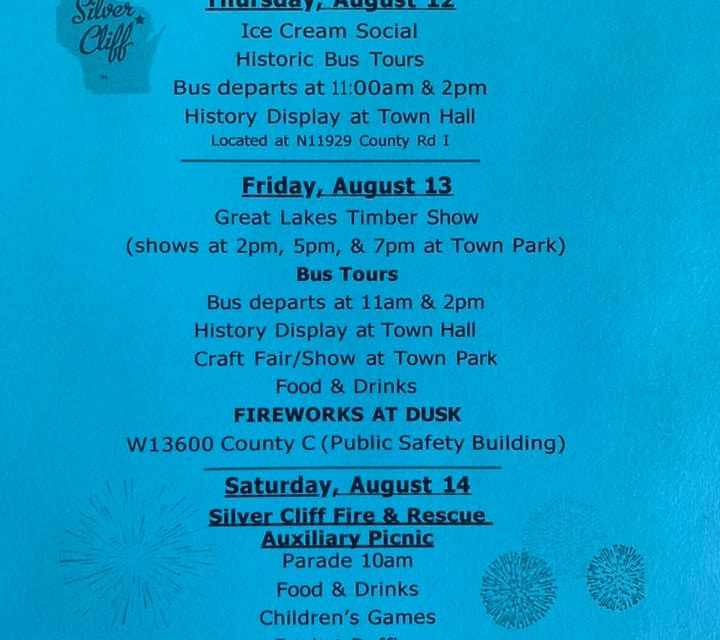 Small Town Centennial Celebration is being held this weekend