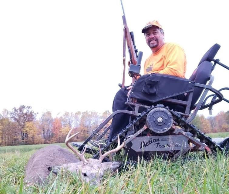 Eligible Hunters: Sign Up for Fall Gun Deer Hunt For Hunters With Disabilities By Sept. 1