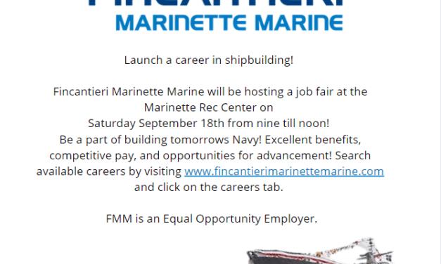 HIRING EVENT- Marinette Marine