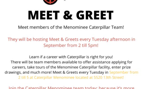 Meet & Greet- Caterpillar