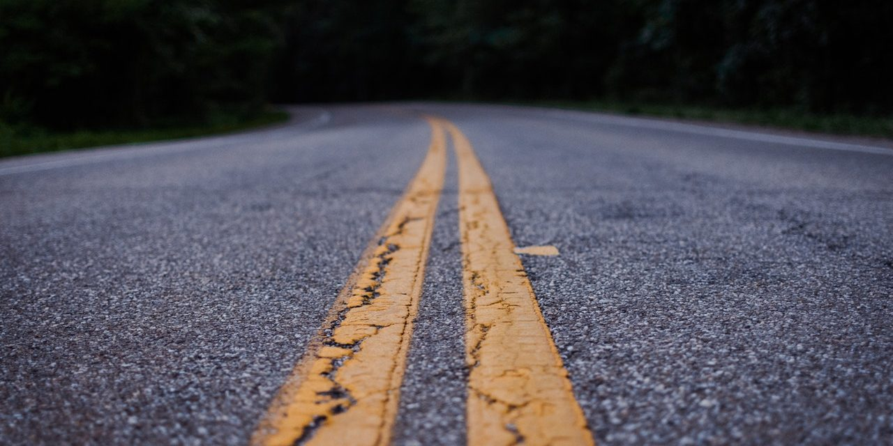 Traffic Line Painting for City of Marinette